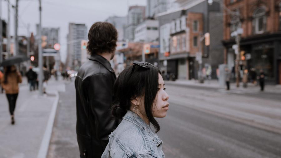 WAVE Elopement Toronto streets