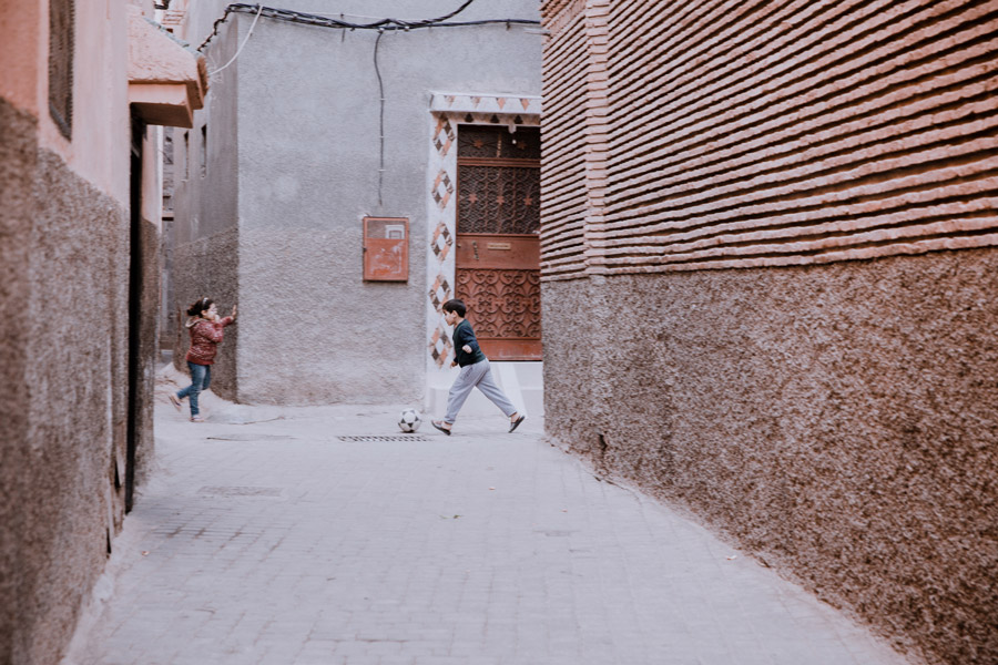 WAVE Marrakech street kids